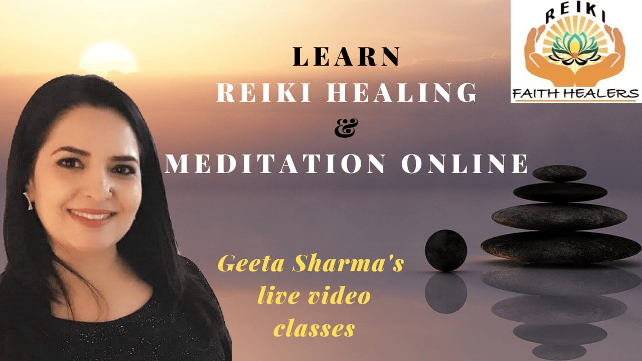 Reiki Level 1 Online classes with Geeta Sharma